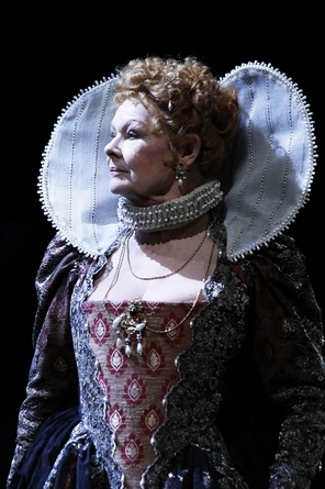 Dame Judi Dench as Titania at the Rose Theatre Kingston upon Thames